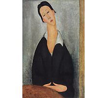 Amedeo Modigliani - Portrait of a Polish Woman 1919 Woman Portrait  Fashion  Photographic Print