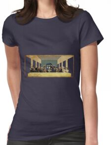 THE DOCTOR'S LAST SUPPER  Womens Fitted T-Shirt