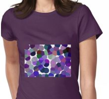 Large Purple Pollen Womens Fitted T-Shirt