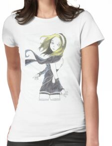 Kat of Gravity Rush  Womens Fitted T-Shirt