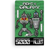 Fight of the Galaxy Canvas Print