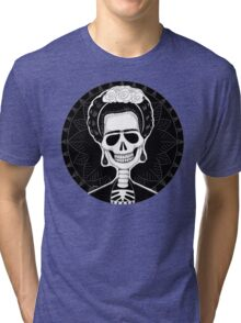 Frida (Stack's Skull Sunday) Tri-blend T-Shirt