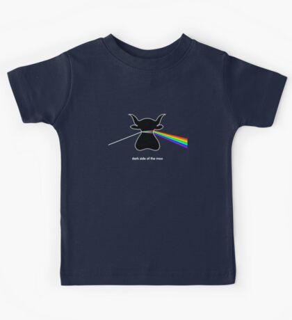 Dark Side of the Moo - T shirt Kids Tee