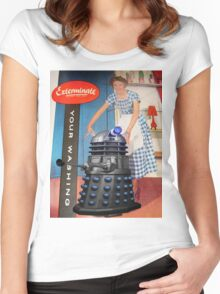 Exterminate .... your washing Women's Fitted Scoop T-Shirt