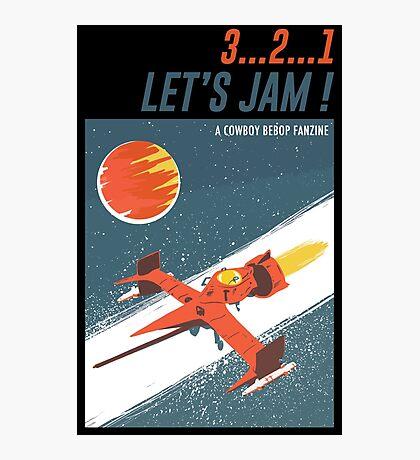 Let's Jam - Cowboy Bebop Photographic Print
