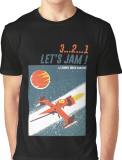 Let's Jam - Cowboy Bebop Graphic T-Shirt