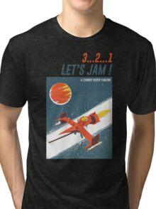 Let's Jam - Cowboy Bebop Tri-blend T-Shirt