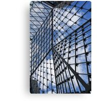 Geometric Sky - Fabulous Modern Architecture in London, UK - Vertical Canvas Print