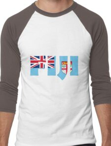 Fiji Men's Baseball ¾ T-Shirt