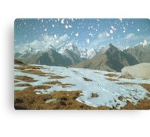Magic in the Himalayas Canvas Print