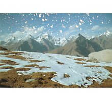 Magic in the Himalayas Photographic Print