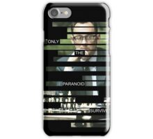 Finch - Person of Interes - Quote iPhone Case/Skin