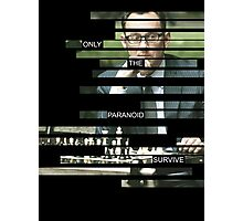 Finch - Person of Interes - Quote Photographic Print