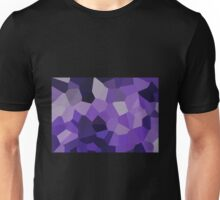 Large Purple Crystals Unisex T-Shirt