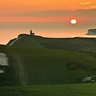 Sunset At The Belle Tout Lighthouse by willgudgeon