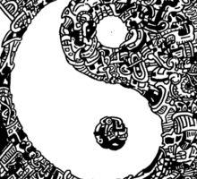 Ying Yang Sticker