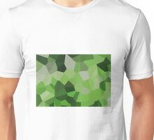 Large Green Crystals Unisex T-Shirt