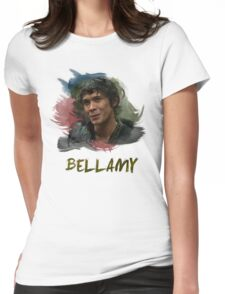 Bellamy - The 100 Womens Fitted T-Shirt
