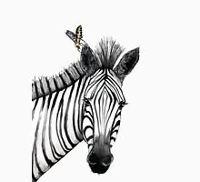 The zebra with the bee Unisex T-Shirt