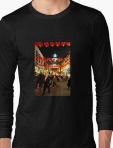Chinatown Bustle  Long Sleeve T-Shirt