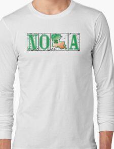 Irish NOLA Street Tiles  Long Sleeve T-Shirt