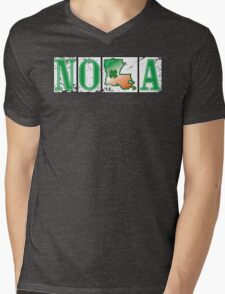 Irish NOLA Street Tiles  Mens V-Neck T-Shirt