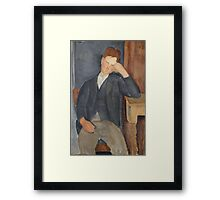 Amedeo Modigliani - The Young Apprentice 1918 - 1919 Framed Print