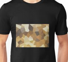 Large Brown Crystals Unisex T-Shirt