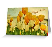 Easter Tulips #2 Greeting Card