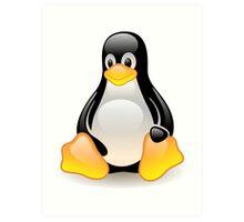 Linux Logo Art Print