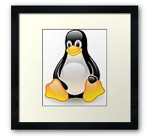 Linux Logo Framed Print