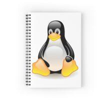 Linux Logo Spiral Notebook