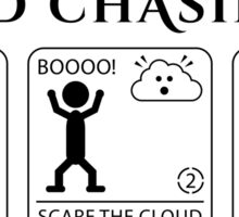 Cloud Chasing 101 Sticker