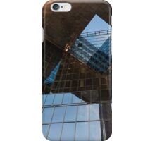 Glass, Copper and Steel Geometry - Fabulous Modern Architecture in London, UK - Horizontal  iPhone Case/Skin