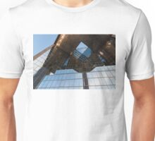 Glass, Copper and Steel Geometry - Fabulous Modern Architecture in London, UK - Horizontal  Unisex T-Shirt