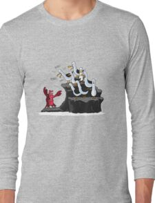The crab is mine! Long Sleeve T-Shirt