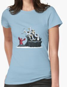 The crab is mine! Womens Fitted T-Shirt