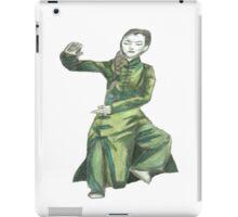 Martial Arts Lady 2 iPad Case/Skin