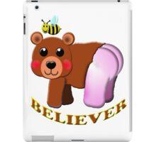 bee bear believer iPad Case/Skin