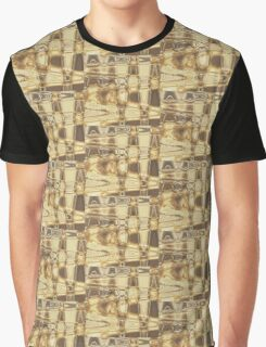 Brown Waves Graphic T-Shirt