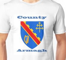 County Armagh Coat of Arms Unisex T-Shirt