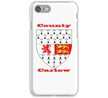 County Carlow Coat of Arms iPhone Case/Skin