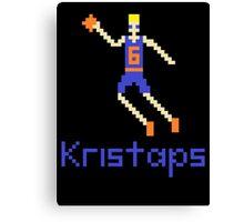Kristaps Pixel Canvas Print