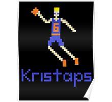 Kristaps Pixel Poster