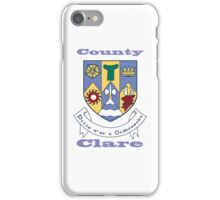County Clare Coat of Arms iPhone Case/Skin