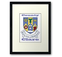 County Clare Coat of Arms Framed Print