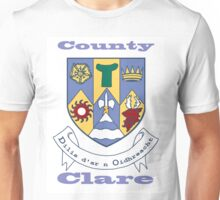 County Clare Coat of Arms Unisex T-Shirt