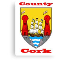 County Cork Coat of Arms Canvas Print