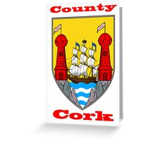 County Cork Coat of Arms Greeting Card