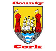 County Cork Coat of Arms Photographic Print